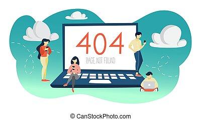 fogalom, ábra, 404, hopp!, hiba, nem, alapít, oldal