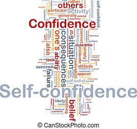 fogalom, önbizalom, csont, háttér