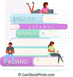fogalom, e-book, könyvtár, digitális