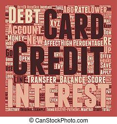 fogalom, hogyan, szöveg, hitel, wordcloud, bemetsz, konzerv, háttér, átszállítás, érint, egyensúly, -e, kártya