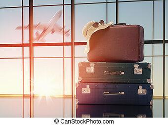 fogalom, holiday utazik