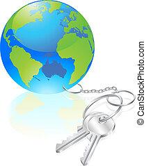 fogalom, kulcsok, világ