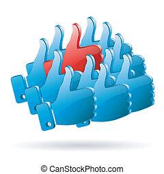 fogalom, média, -, társadalmi, vélemény, különleges