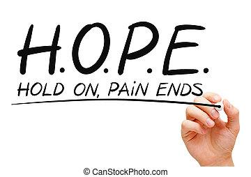 fogalom, remény
