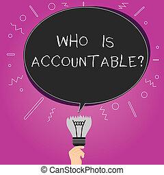 fogalom, szín, szöveg, gondolat, valami, tiszta, ovális, accountablequestion., felelős, írás, answerable, megbukott, beszéd, felül, buborék, lenni, ügy, törött, gumó, szó, icon., vagy