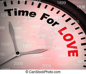 fogalom, szeret, erőforrások, -, ábra, imád, idő, i'm am, ön, ikon, yours, 3
