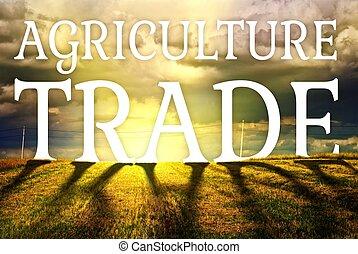 fogalom, tanya, kereskedelem, mező, mezőgazdaság, táj
