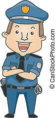 foglalkozás, rendőr