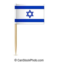 fogpiszkáló, lobogó, israel.
