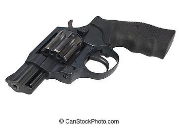forgópisztoly pisztoly, elszigetelt, white háttér