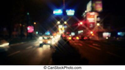 forgalom, 4k, éjszaka
