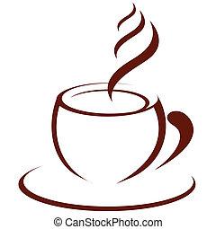 forró kávé