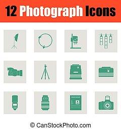 fotográfia, állhatatos, ikon
