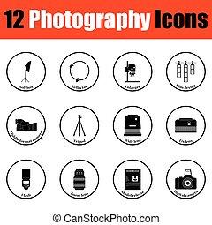 fotográfia, ikon, állhatatos