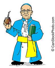 francis, ivás, társ, pápa