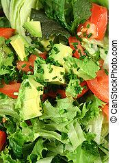 friss, avocado saláta