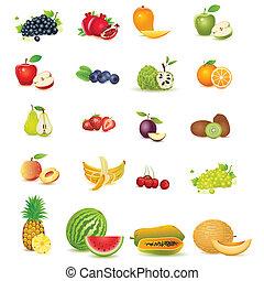 friss gyümölcs