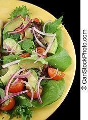 friss, kert saláta