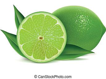 friss, limes