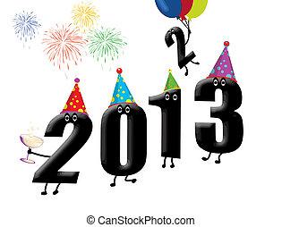 furcsa, új, előest, 2013, év