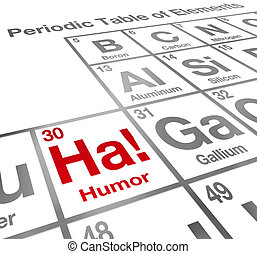 furcsa, hektár, humor, elem, periodic asztal, vígjáték, nevetés