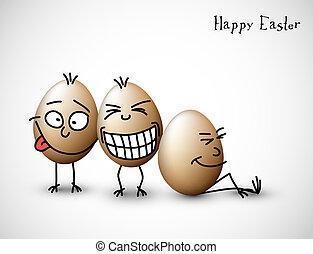 furcsa, ikra, húsvét