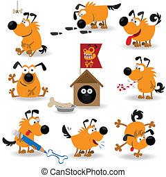 furcsa, kutyák, set#2