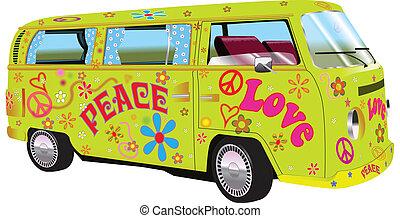 furgon, hippi