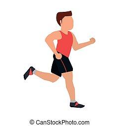 futás, állóképesség, ember