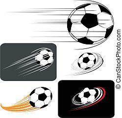 futball, clipart