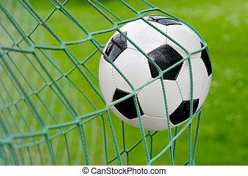 futball, goal!