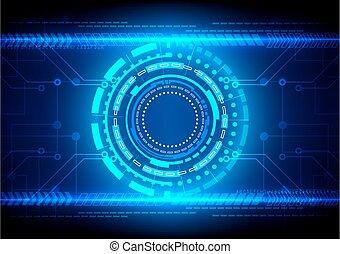 futuristic, digitális, elvont