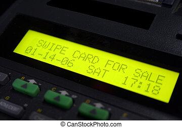 gép, hitelkártya