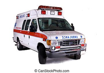 gépel, 2, furgon, mentőautó