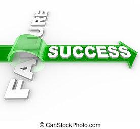 gól, siker, elér, -, legyőző, balsiker, vs, gát