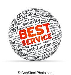 gömb, legjobb, szolgáltatás, 3