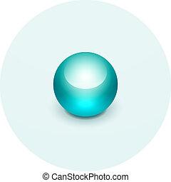 gömb, térkép, mutató, ikon
