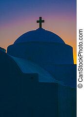 görög, hajnalodik, ortodox, kápolna