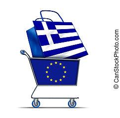 görögország, adósság, vásárlás, európa, görög, kiárusítás