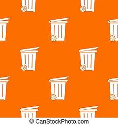 gördít, motívum, konténer, narancs
