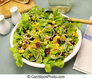 gabonaszem saláta