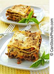galvanizál, lasagna