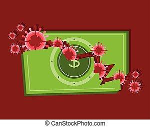 gazdasági, csőd, coronovirus