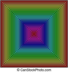 geometriai, blokkok, háttér, színezett, forma