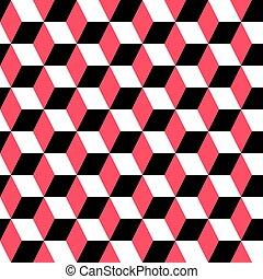 geometriai, díszítés, seamless