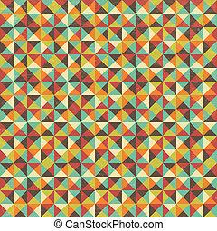 geometriai, derékszögben, háromszög, seamless, háttér