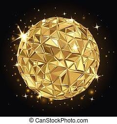 geometriai, disco labda