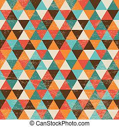 geometriai, háromszög, seamless, háttér