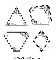 geometriai, mindenszentek napjának előestéje, keret