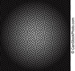 geometriai, ornament.